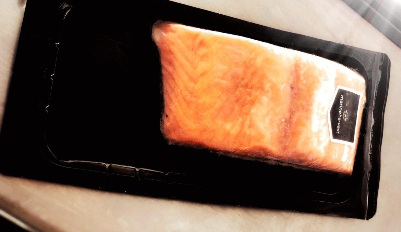 лосось филе-кусок на коже