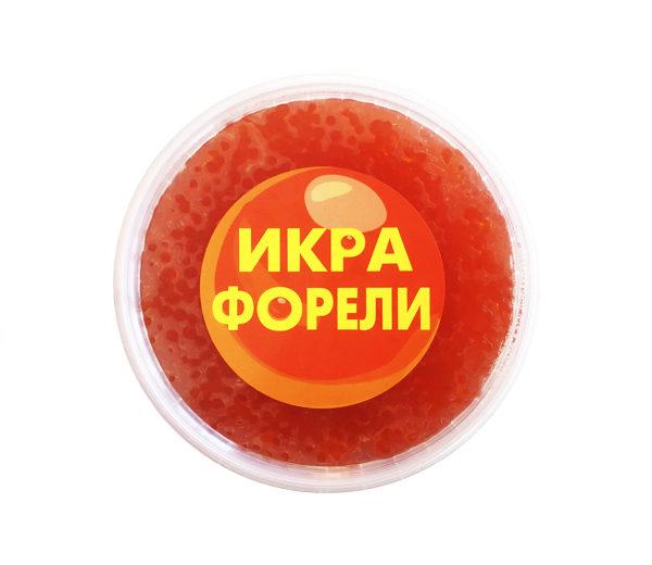 Икра Форели, солёная, Россия, 1 кг