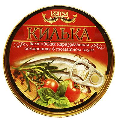 Килька балтийская н/р обжаренная в томатном соусе