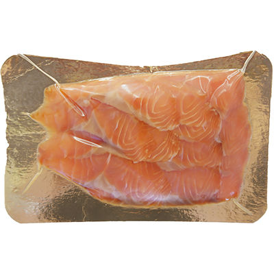 Форель (филе-нарезка, холодного копчения), 150г