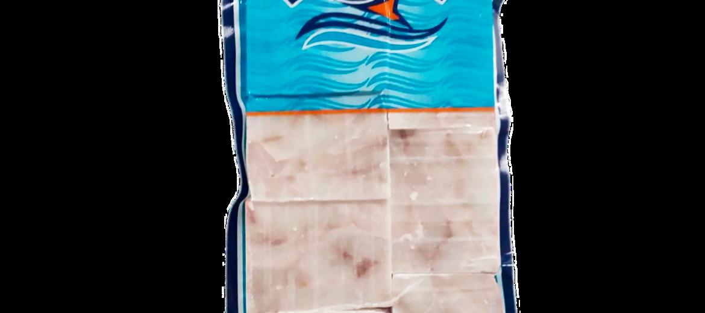 Треска филе без кожи кубики мор., Лакифиш, вес, кг